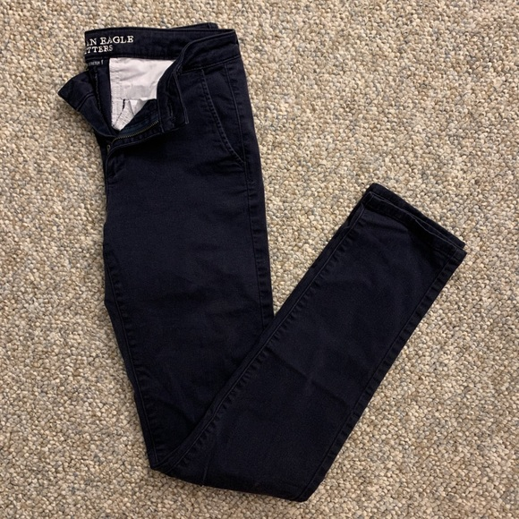 American Eagle Outfitters Pants - American Eagle Super Stretch Skinny Pant | Navy